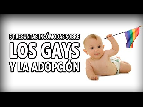 5 Preguntas Incómodas sobre los gays y la adopción