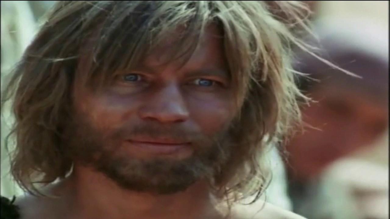 Bautismo de Jesús en el Río Jordán (película Jesús de Nazareth)